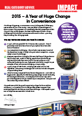 2015 - A Year of Huge Change in Convenience